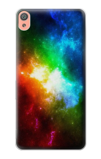 Printed Colorful Rainbow Space Galaxy Sony Xperia XA Case