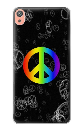 Printed Peace Sign Sony Xperia XA Case