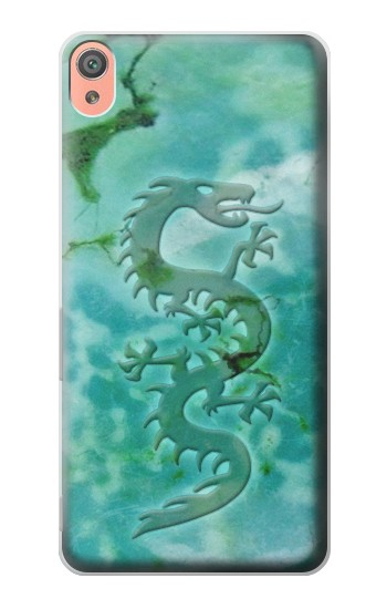 Printed Chinese Dragon Green Turquoise Stone Sony Xperia XA Case