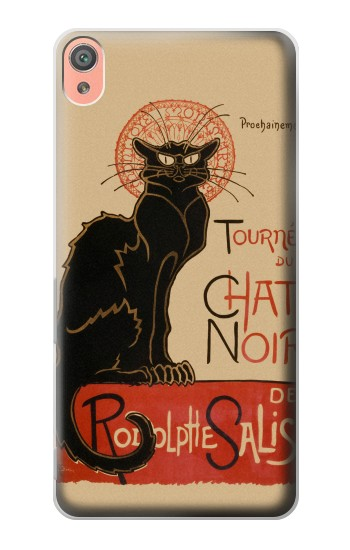 Printed Chat Noir The Black Cat Sony Xperia XA Case