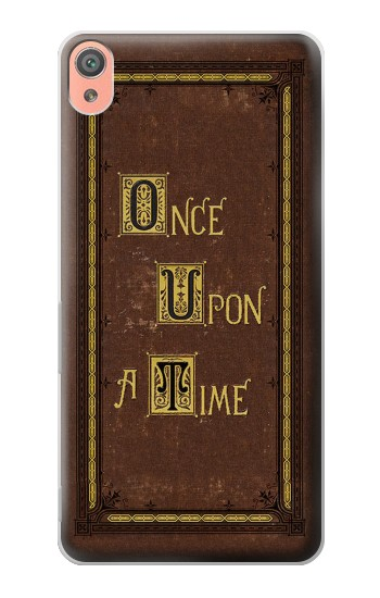 Printed Once Upon a Time Book Cover Sony Xperia XA Case