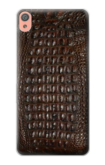 Printed Brown Skin Alligator Graphic Printed Sony Xperia XA Case