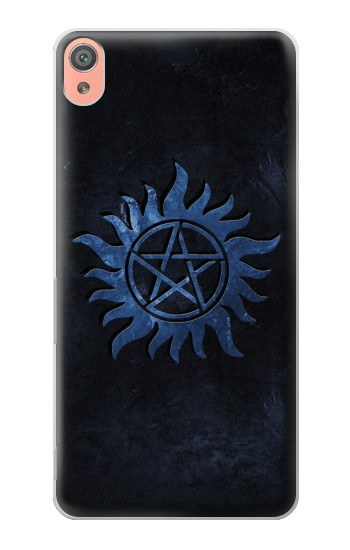 Printed Supernatural Anti Possession Symbol Sony Xperia XA Case