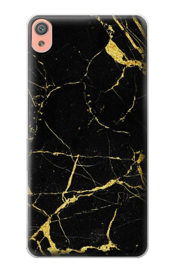 Printed Gold Marble Graphic Printed Sony Xperia XA Case