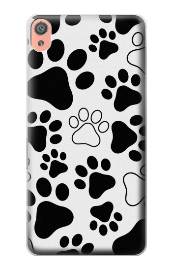 Printed Dog Paw Prints Sony Xperia XA Case