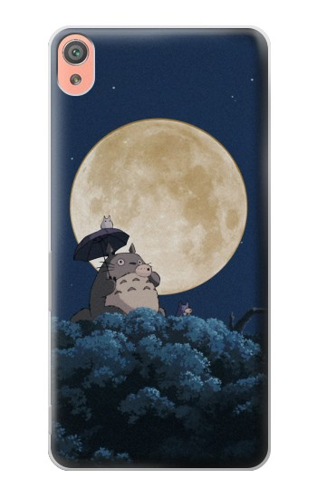 Printed Totoro Ocarina Moon Night Sony Xperia XA Case