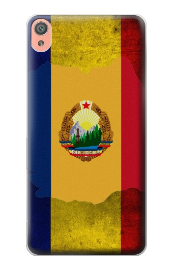 Printed Romania Flag Sony Xperia XA Case
