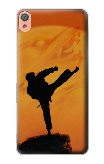 Printed Kung Fu Karate Fighter Sony Xperia XA Case