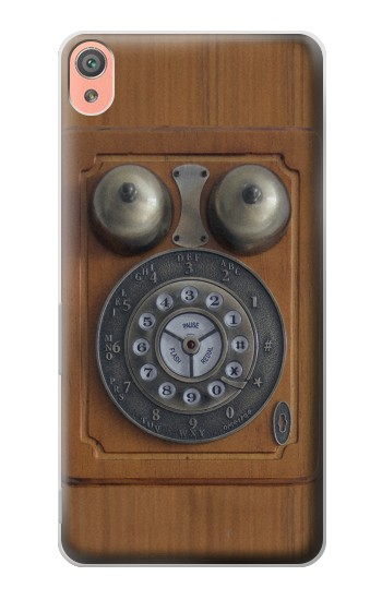 Printed Antique Wall Phone Sony Xperia XA Case