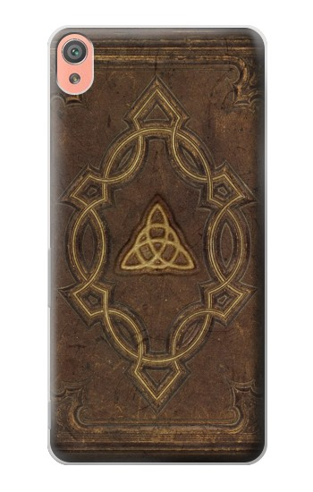 Printed Spell Book Cover Sony Xperia XA Case