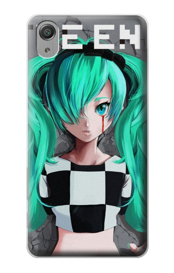 Printed hatsune miku The End Sony Xperia X Performance Case