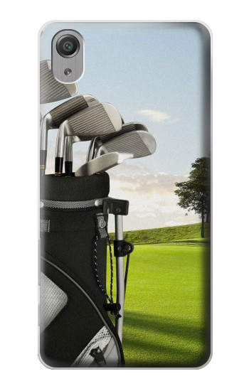 Printed Golf Sony Xperia X Performance Case