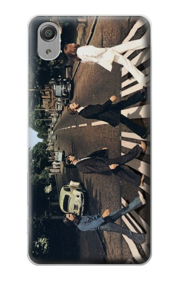 Printed The Beatles Abbey Road Sony Xperia X Performance Case