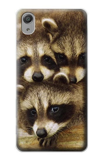 Printed Baby Raccoons Sony Xperia X Performance Case
