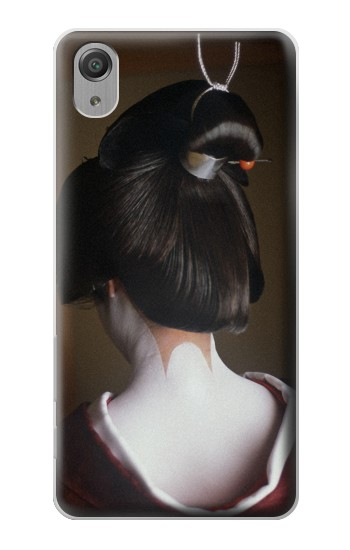 Printed Japan Geisha Neck Sony Xperia X Performance Case
