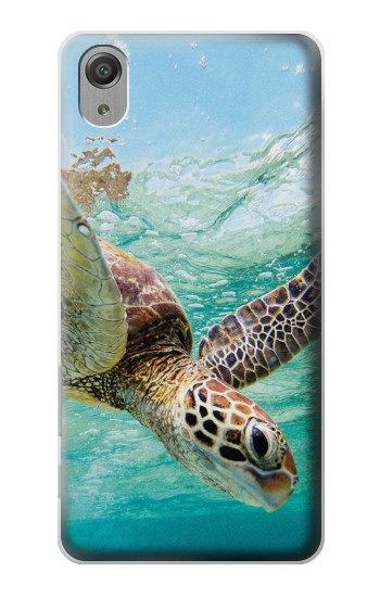 Printed Ocean Sea Turtle Sony Xperia X Performance Case