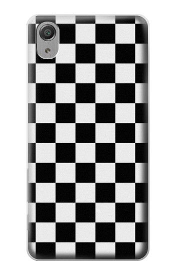 Printed Checkerboard Chess Board Sony Xperia X Performance Case