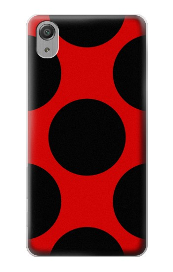 Printed Lady bug Dot Pattern Sony Xperia X Performance Case