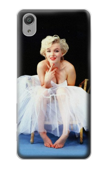 Printed Marilyn Monroe White Dress Sony Xperia X Performance Case