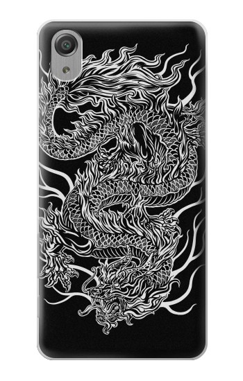 Printed Dragon Tattoo Sony Xperia X Performance Case