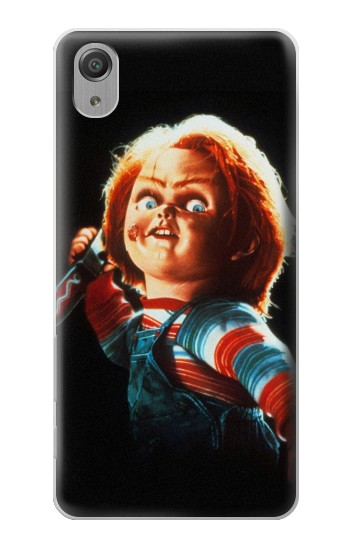 Printed Chucky With Knife Sony Xperia X Performance Case