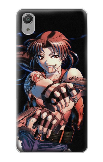 Printed Black Lagoon Revy Two Hands Sony Xperia X Performance Case