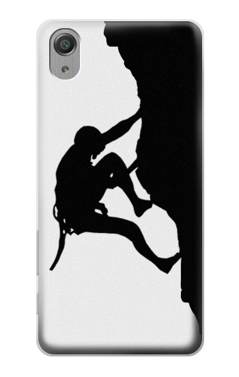 Printed Mountain Climber Climbing Sony Xperia X Performance Case