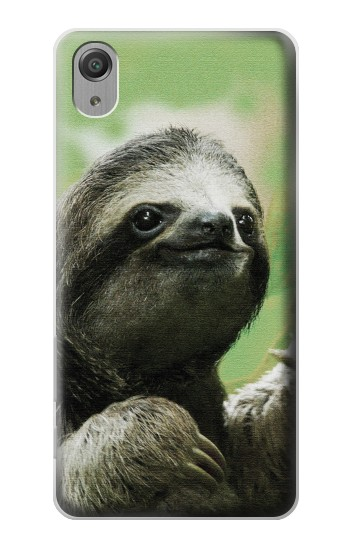 Printed Smiling Sloth Sony Xperia X Performance Case