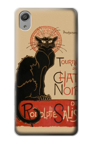 Printed Chat Noir The Black Cat Sony Xperia X Performance Case