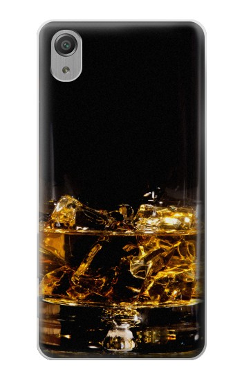 Printed Ice Whiskey Glass Sony Xperia X Performance Case