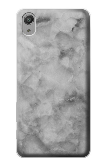 Printed Gray Marble Texture Sony Xperia X Performance Case