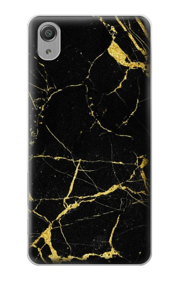 Printed Gold Marble Graphic Printed Sony Xperia X Performance Case