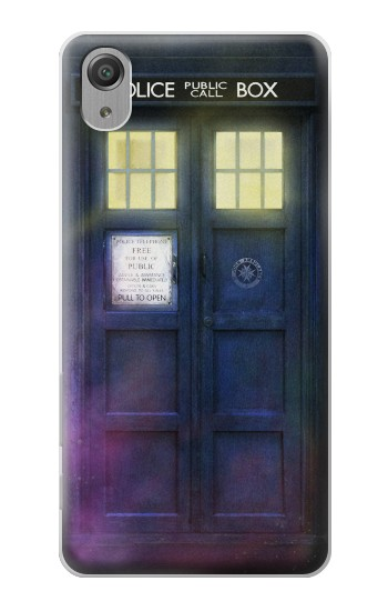 Printed Tardis Phone Box Sony Xperia X Performance Case