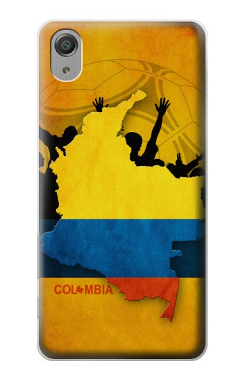 Printed Colombia Football Flag Sony Xperia X Performance Case