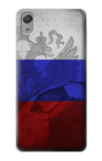 Printed Russia Football Flag Sony Xperia X Performance Case