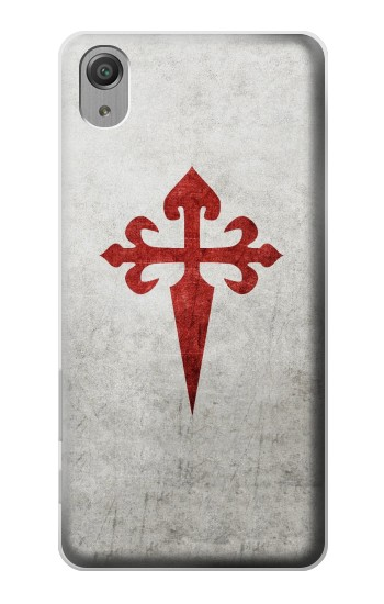 Printed Order of Santiago Cross of Saint James Sony Xperia X Performance Case