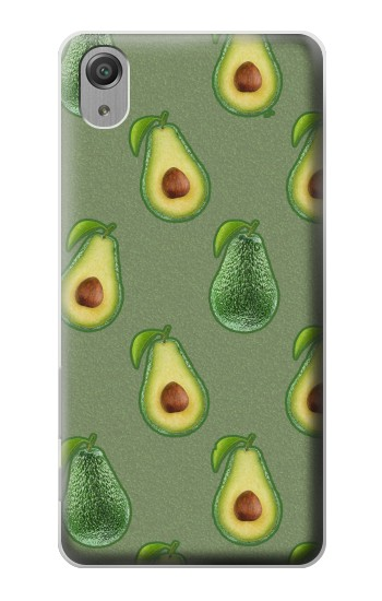 Printed Avocado Fruit Pattern Sony Xperia X Performance Case