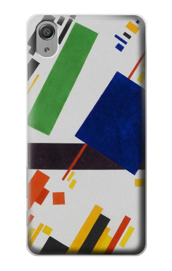 Printed Kazimir Malevich Suprematist Composition Sony Xperia X Performance Case