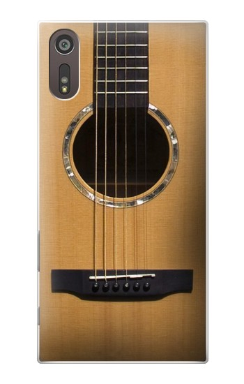 Printed Acoustic Guitar Sony Xperia XZ Case
