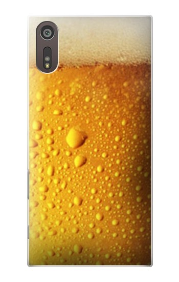 Printed Beer Glass Sony Xperia XZ Case