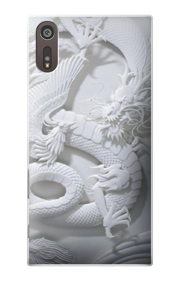 Printed Dragon Carving Sony Xperia XZ Case