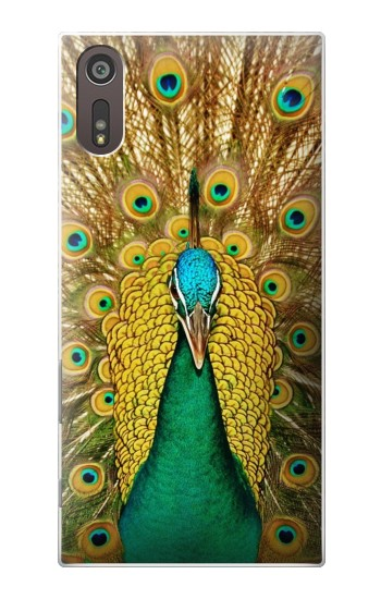 Printed Peacock Sony Xperia XZ Case