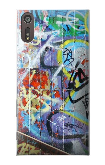 Printed Wall Graffiti Sony Xperia XZ Case