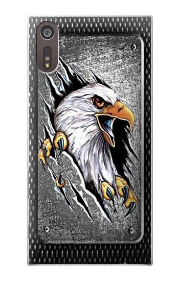 Printed Eagle Metal Sony Xperia XZ Case