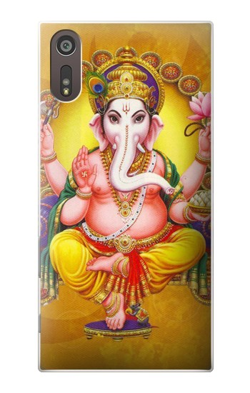 Printed Lord Ganesh Hindu God Sony Xperia XZ Case