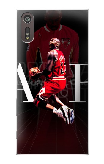 Printed Basketball Air Jordan Sony Xperia XZ Case