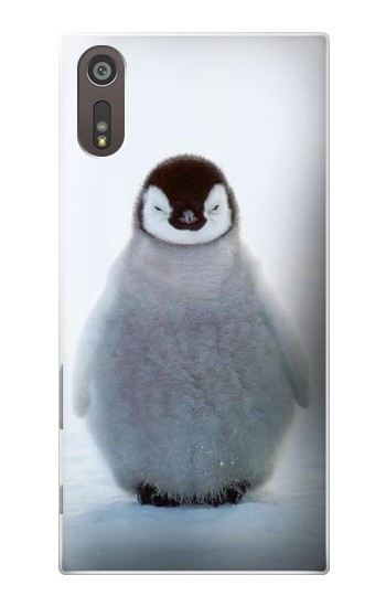 Printed Penguin Ice Sony Xperia XZ Case