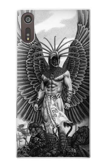 Printed Aztec Warrior Sony Xperia XZ Case