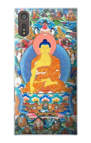 Printed Buddha Paint Sony Xperia XZ Case