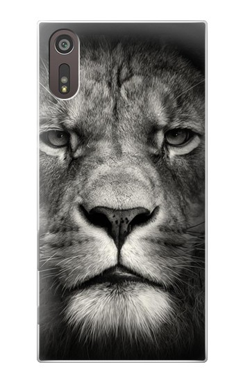 Printed Lion Face Sony Xperia XZ Case